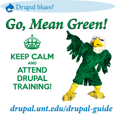 Take a Drupal Training class today!
